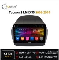 Proprietà 2Din Android 10.0 Octa Core Car DVD Player Auto Radio GPS Navi Forhyundai Tucson 2 LM IX35 2009 - 2021 Multimedia DSP 4G1