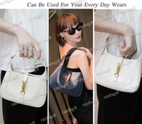 Borse a tracolla di moda da donna a sella 28 cm di alta qualità Borse a tracolla in vera pelle Lady Hobos Crossbody Bag più colori