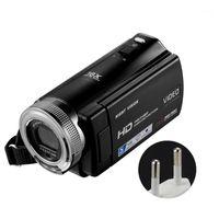 16x التكبير الرقمي زاوية واسعة التصوير الفوتوغرافي 30fps التناوب شاشة USB قابلة للشحن FHD 1080P مع ميكروفون كاميرا الفيديو في الهواء الطلق 1