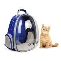 PET portátil / gato / perro / perrito burbuja portador de mochila, nuevo diseño de espacio 360 grados turismo rucksack bolso TR1