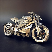 MMZ модель Nanyuan 3D металлическая головоломка мотоцикл коллекции мотоциклов головоломки 1:16 l diy 3d лазерная вырезать модель головоломки игрушки для взрослых y200413