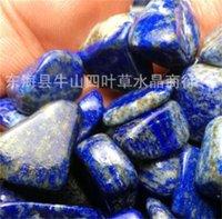 Piedra natural APIES Lazuli aplastada Pecado de pescado Fleshy Miniatura Roceadora irregular Decoración áspera Piedras Adornos Tanque de agua Venta caliente 2 2sy M2