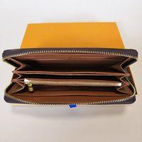 Zippy carteira vertical a maneira mais elegante de transportar em torno de cartões de dinheiro e moedas famosas desenhista homens bolsa de couro titular longos busines