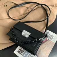Stein Patentkette Crossbody Taschen für Frauen 2021 Kleine Handtasche Kleine Tasche PU Leder Handtasche Damen Designer