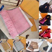 Con il sacchetto Gift Box ricevuta Etichetta Top sciarpa di qualità delle donne degli uomini inverno Luxe sciarpa di modo selvaggio Pashmina Warm Imitate cachemire Sciarpe