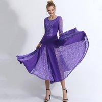 Sahne Giyim 5 Renkler İspanyol Flamenko Elbise Kadınlar Kızlar Için Çingene Dans Etek Dantel Stiching Seksi Büyük Kanat Katı Vestido Kostüm