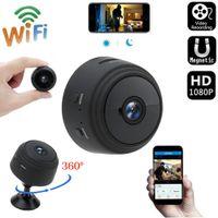A9 Mini caméra WIFI 1080P Application téléphonique à distance sans fil Moniteurs Home Security P2P Cam Night Vision Caméras Surveillance Caméras Monitor