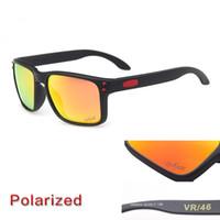 مصمم نظارات شمسي رجالي 2021 العلامة التجارية النظارات الشمسية الاستقطاب OO9102 الكلاسيكية uv حماية الرياضة في الهواء الطلق ركوب النظارات الشمسية مع القضية
