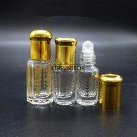 100 stücke 3ml 5ml Glas Ätbare Ölrolle auf Flaschenfläschchen Roller Kugel für Parfüm Aromatherapie F2362Good Qualtitygo