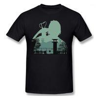 Camisetas para hombres No soy camiseta de nadie Hombres Camiseta básica Camiseta Streetwear Prendas Residentes Residentes Evil Zombie juego Divertido diseño Homme Top 1