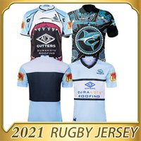 2020 Cronulla-Sutherland Sharks Rugby Jersey 20 21 Jersey Indígena Nrl Adulto Adulto de Alta Qualidade Rugby Jerseys S-5xl