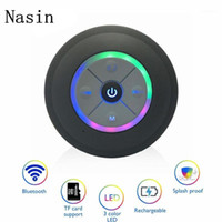 Nasin Portable Subwoofer Subwoofer Waterproof Bluetooth Haut-Parleur Bluetooth Car sans fil Call Free Musique Microphone For1