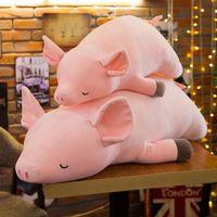Nouveau nouveauté mignon cochon rose en peluche simulation poupées peluche filles enfants et cadeaux d'anniversaire en gros Nouvel An Décoration