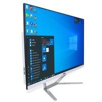 Mini PCS Hystou Desktop All in One Computer23.8 بوصة مراقب للألعاب DDR3L I3 9100F 9400F 9700F بطاقة مخصصة GTX1650 4G