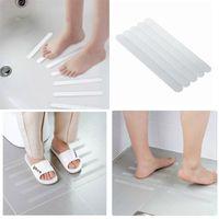 Anti-Slip-Band Fünf Stücke Kleidung Duschraum-Treppen-Schritte Badewanne Klebeband transparentes, rutschfester Streifen heißer Verkauf 2 5JD P1