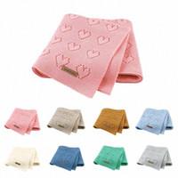 Baby Decken Neugeborene Baumwolle Swaddle Wrap 100 * 80cm Säuglingskinder Unisex Kinderwagen Bett Sofa Autositz Bezüge Kinder Reise Decken R87W #