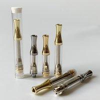 Gold Silver AC1003 Cartuchos Vape Vape Vape 0.5ml 1ml Cartucho de Óleo de Vidro Cerâmica Carrinhos 510 Atomizadores Vaporizador de Tópicos E Cigarros