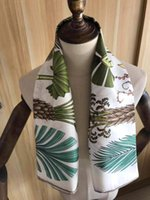 Foulards 2021 Arrivée Fashion Elegant Tree100% Silk Echarpe 90 * 90 cm carré Châle carré Main Fabrication d'une enveloppe pour femme