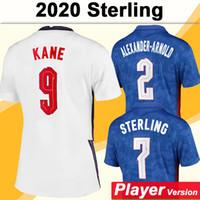 2020 Kane Rashford Mens Player Version Soccer Jerseys Sterling Gomez Dele Home Away Tista Camicia calcio Maddison Trippier Rose Uniforms