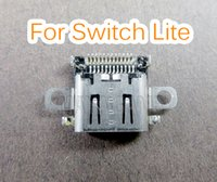 Оригинал зарядки порт гнездо зарядки зарядное устройство замена разъем порт для коммутатора Lite для NS облегченный