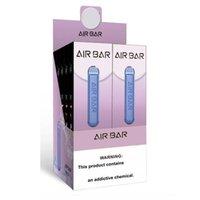 Air Bar Dispositivo de Vape Descartável 1.8ml Pen 380mAh Bateria 500 Puffs Vapors e Cigs Sistema Portátil Starter Kit Bar Bar Lux