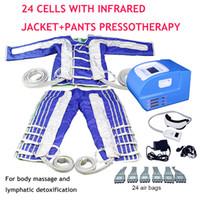 3 in 1 pressoterapia Muscoli macchina sauna a infrarossi disintossicazione massaggio a pressione drenaggio linfatico coperta corpo macchina dimagrante bellezza
