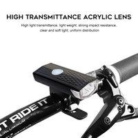 Bicicleta Luz USB Recarregável LED Bicicleta Brilhante Bicicleta Impermeável Farol da Frente e Cauda Traseira Set