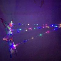 Мигающий световой палочка светодиодный пластиковый светящиеся бабочка палочки мультфильм палочкой мальчики девочек подарочные игрушки фестиваль проданы хорошо 3 9HC H1