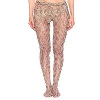 Осень зима чулочные изделия полная буква печатные дизайнерские колготки теплые носки колготки мода девушки дышащие чулок оптом