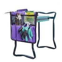 Tragbare Oxford-Garten-keeler-Sitzwerkzeugtasche Outdoor-Arbeitswagen für Kniehocker Gartenarbeit Werkzeuge Lagerung Beutel Toolkit Aufbewahrungstasche1