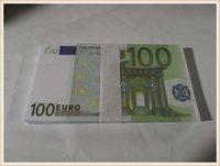 Collezione Prop 100 Faux Play Game Euro Dollar Movie Garden Billet Falso denaro denaro Regali di denaro Euro 100 01 Commercio all'ingrosso e billet copia nektf