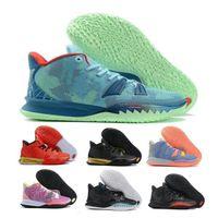 Kyries 7 7S سخن رجالي أحذية رياضية خاصة FX تعبيرات أيقونة الرياضة الأخضر Soundwave Sisterhood Hendrix Man Outdoor Shoes