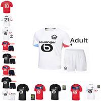 Losc Lille Football Sports Jersey 2021 R. Sanches Burak Bamba Yazzici J. Ikone Elik Vestiti da uomo Maillot de Footbal Camicia Thai Uniform