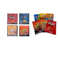 Nuovi 10 tipi Chip di patate Medibles Cheetos Maylar Bags Reseable Edibles Doritos Cheese Gummi Worm Cheetos Borsa Borse da imballaggio