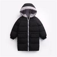 Benemaker Kinder Winter Overall Down Jacken Für Jungen Mädchen Kinder Parkas Jacke Kleidung Warme Baby Mit Kapuze Mäntel Oberbekleidung JH096 LJ201017