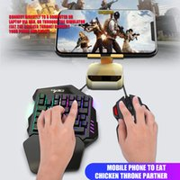One- Handed Gaming Keyboard Mobile Mechanical Keyboard Gamer ...