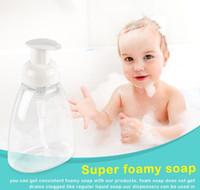 250ML 300ML واضح رغوة مضخة زجاجة الصابون رغوة مدمج موزعات السائل المنزلية لصحة الأطفال بالجملة bbyegcrl xmh_home