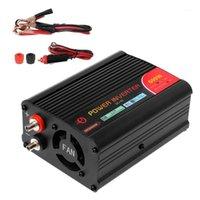 Горячие продажи 300 Вт / 400 Вт / 500 Вт / 600 Вт инвертор питания преобразователь постоянного тока 12 В до 220 В переменного тока Exverter с адаптером автомобиля1