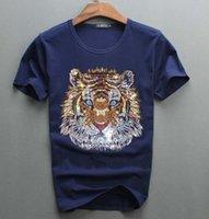 2021 New Arrrive Tshirt Diseño de lujo de diamantes 100% algodón hombres top tees diseñador hombre camiseta 19rs