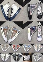 Dior Shoes Günstige Classic Leder Weiß Schwarz Weiß Rosa Blau Gold Superstars der 80er Jahre Stolz Turnschuhe Super Star Frauen Männer Sport Freizeitschuhe 36-44