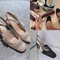 2Qixi Europäer Sandale Luxus Stil Frauen Sandalen Mode Extravagant Klassische Designer Kleid Schuhe Hohe Qualität Ferse Sandalen Niete