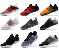 Hommes de haute qualité Mamba 11 Elite Basketball Chaussures Bruce Lee FTB Cheval Blanc Achille Cheval Rouge Talon 11s sport Chaussures de sport