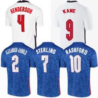 Uomini + Kids Kit Kit Sancho Rashford Soccer Jersey Inghilterra 2020 2021 Sterling Kane 20 21 Football Men Donne Camicie per bambini Camicie Kit Jerseys uniforme 4XL