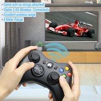 2.4G Controlador inalámbrico para Microsoft Xbox 360 Console GamePad Joypad Game Control Remote Controller Joystick con PC Reciever Free DHL