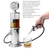 Máquina de metal Mini Cerveza Máquina de consumo de bebidas Bomba de pistola de una sola capa con diseño transparente de la estación de gas para beber vino