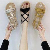 Akexiya Frühling 2020 Damen Sandalen Neue Elastische Band Atmungsaktive Tiefschuhe Damenschuhe Mode Wildschuhe Sandalen1