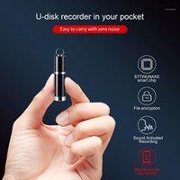Sttwunake-Voice Recorder Mini aktivierte Aufnahme Micro Diktaphon Audio Sound Digital Professional Flash Drive1