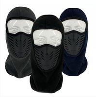 Mode Winter-Trappermütze Winddichtes Radfahren Hood Hüte Fleeces dicke warme Gesichtsschutz Gehör Muffes Maske im Freien Ski Caps LJJP774