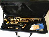المهنية تينور ساكس أفضل جودة ياناجيزاوا الذهب الأسود تينور ساكسفون في ب شقة لحن الآلات الموسيقية هدية