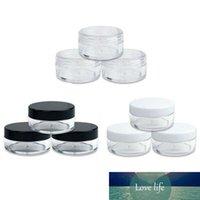 30pcs 2G / 3G / 5g / 10g / 15g / 20g Esvaziar Plástico Limpar Cosmetic Jars Maquiagem Container Lotion Bottle frascos Face Cream Amostra Pots Box Gel